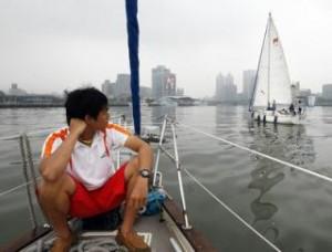 Kaoshiung harbor no wind