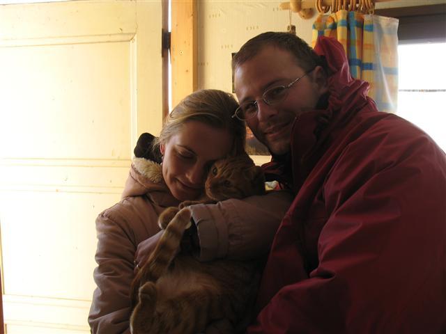 S Klubíčkem v zimě v Táboře