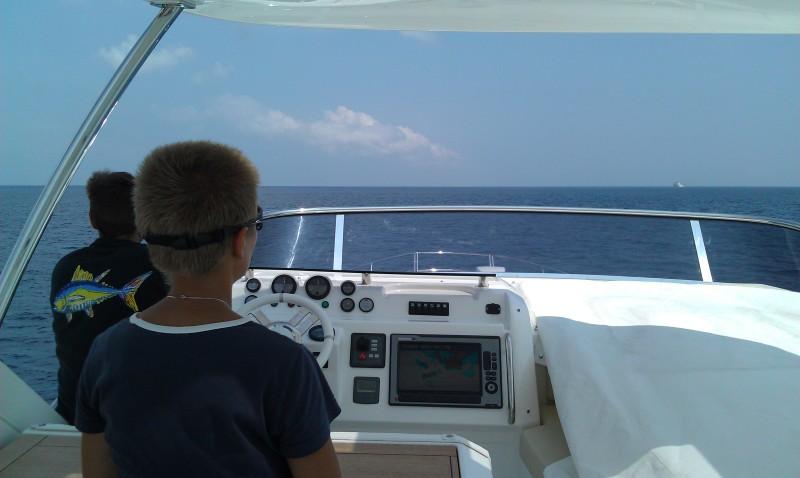 Taiwan Strait ahead