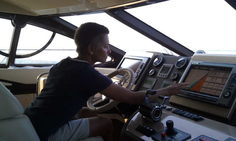 Steering Azimut